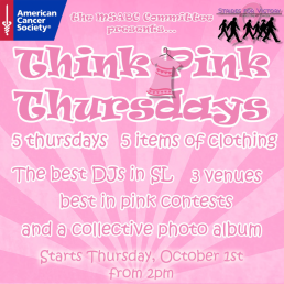 Think Pink Thursdays General Advertisement