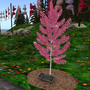 Pink Remembrance Tree